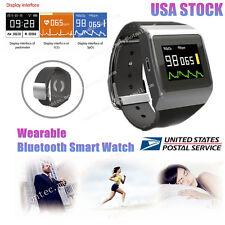 CONTEC CMS50K Wearable SpO2/ECG  Wireless Bluetooth Smart Watch Color OLED FDA