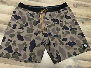 Nike x Carhartt Phatom Boardshorts Frogskin USMC WW2 Size 38 XL