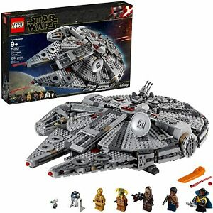 LEGO Star Wars: The Rise of Skywalker Millennium Falcon 75257 (1351 Pieces) New