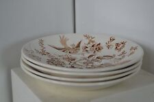 Vtg Brown  Ridgway of Stafforshire England Plate Athestone Saucer Plate lot