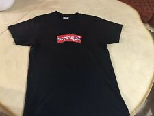 SUPREME COMME DES GARCONS BOX LOGO SIZE MEDIUM SS17 BLACK