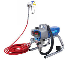 High Pressure Airless Paint Sprayer Wall Paint Spraying Painting Tool 220V