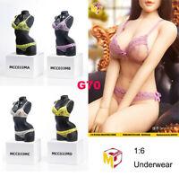 MCCTOYS MCC033 1/6 Female Sexy Bra Briefs Underwear Clothes for 12'' Figure Body
