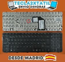 TECLADO PARA PORTATIL HP 699497-071 EN ESPAÑOL CON MARCO NEGRO BLACK