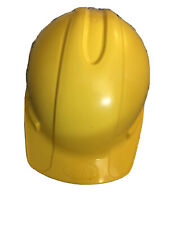 Xlr8 Hard Hat Yellow Full Brim with 4 Point Ratchet Suspension Safety
