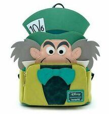 Loungefly Disney Alice in Wonderland Mad Hatter Mini Backpack Bag WDBK1038