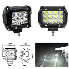 "36W LED Work Light Bar Beam Spot Offroad Driving Fog Lamps SUV ATV 4WD 4"" IDEM"