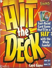 HIT THE DECK CARD GAME BY FUNDEX FAST - PACED CARD GAME 100% COMPLETE AND FUN!