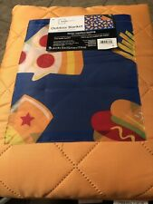 """New listing Outdoor Blanket 60"""" x 70"""" with Water Repellent Backing, Carry Handle & Pocket."""
