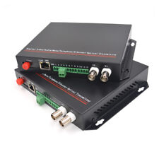 Video/Ethernet/RS485 Data Fiber optic media converters (TX and RX ) S/M up 20Km