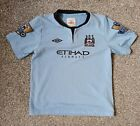 Manchester City Football Shirt Kids Size Age 4/5 years