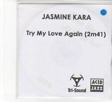 (FB968) Jasmine Kara, Try My Love Again - 2012 DJ CD