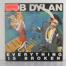 "Bob Dylan – Everything Is Broken -  Vinyl, 12"", Maxi-Single, 45 RPM  - 1989"