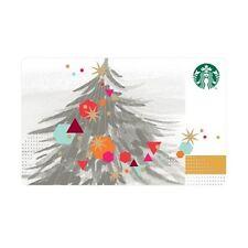 Starbucks Korea_Christmas Tree Card_2014 Limited Edition