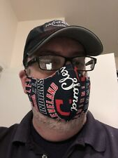 Cleveland Indians Face Mask - Washable Extra Pocket For Additional Filter