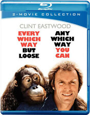 Every Which Way But Loose/Any Which Way  (2011, REGION A Blu-ray New) BLU-RAY/WS
