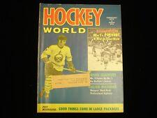 February 1972 Hockey World Magazine - Rick Martin Bruins Cover