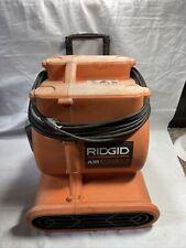 Ridgid Air Mover Fan Air Blower Handle Wheel Heavy Duty Induction Am25600