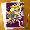 YU-GI-OH! Personalised Birthday Card - A5 Anime Yugi Kaiba Joey Yu-Gi-Oh