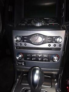 SILVER Aluminum Radio & A/C Knobs for Infiniti G37 G35 FX37 FX50 QX70 EX37 Q60