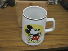 Vintage New in Box Micky Mouse Coffee Cup Disney