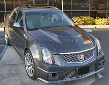 Carbon Fiber Bonnet Fit For 09-14 Cadillac GTS-V D3 Motorsport Style Vented Hood