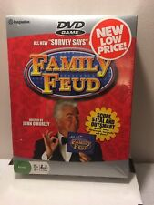 "Family Feud DVD Game All New ""Survey Says"" Questions John O'Hurley Imagination"