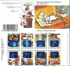 Finland 1995 Used Booklet Dog Hill Kids Mauri Kunnas Hologram - First Day Cancel