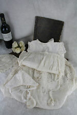 Vintage 1930 French Baptism Dress gown baby