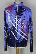 VINTAGE VERMARC MENS CYCLING JERSEY SIZE XXXL (7) LONG SLEEVED CYCLOTECH