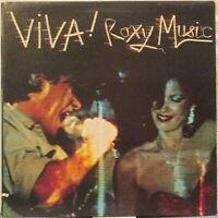 ROXY MUSIC Viva! Roxy Music LP w/ Bryan Ferry, Eddie Jobson
