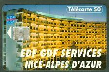 TELECARTE 50 UNITES  EN 866  EDF  GDF  NICE  VIDE