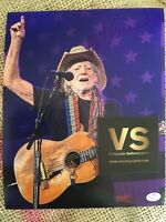 Willie Nelson Autographed 8 X 10 Concert Photo COA CERTIFIED