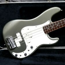 1983 FENDER ELITE PRECISION BASS ll - PEWTER - ANDY BAXTER BASS