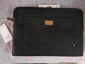 """Golla..Sleeve for MacBook Laptops upto 15"""" Quilted Padded Interior. Black NEW!"""