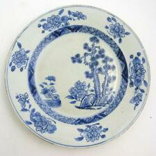 CHINESE BLUE AND WHITE PORCELAIN PLATE, KANGXI PERIOD