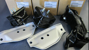 Genuine Subaru STI Group N Engine & Trans Mount SET Impreza WRX Forester KIT 5sp