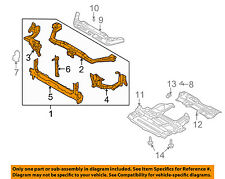 Infiniti NISSAN OEM 04-06 Q45-Radiator Core Support Bracket Panel 62500AT600