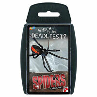 Top Trumps Card Game Spiders