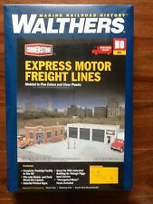 WALTHERS 1/87 HO CORNERSTONE EXPRESS MOTOR FREIGHT LINES  # 933-4049  F/S  NEW!