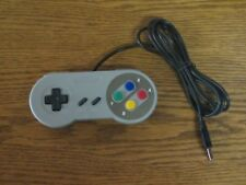USB Super Nintendo Controller Gamepad Joypad SNES für PC MAC Computer *NEU*
