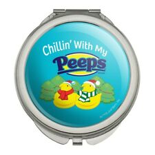 Chillin' With My Peeps Christmas Compact Purse Handbag Makeup Mirror