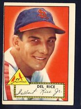 1952 Topps Del Rice #100 VG-EX (Red Back)