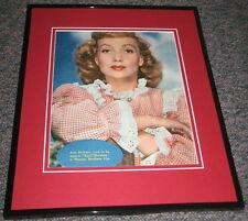 Ann Sothern April Showers 1948 Original Framed Advertisement Poster