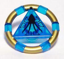 LEGO 7985 Atlantis - Treasure Key w/ Gold Bands and Squid Pattern - Blue