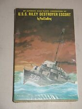 LINDBERG Mini Ship Kit #9705 U.S.S. RILEY DESTROYER ESCORT *FACTORY SEALED*