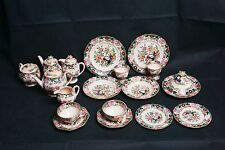 Antique Mason's Ironstone Breakfast Set Discontinued Pattern C2840 wEgg Cups1914