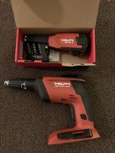 Hilti SD 4500-A22 Cordless Drywall Gun and Hilti SD-M2 Screw Magazine