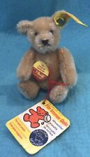 "Vintage Steiff Miniature 4"" Fully Jointed Teddy Bear 0201/10"