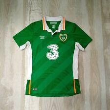 REPUBLIC OF IRELAND 2016/17 HOME FOOTBALL SHIRT JERSEY UMBRO SIZE M